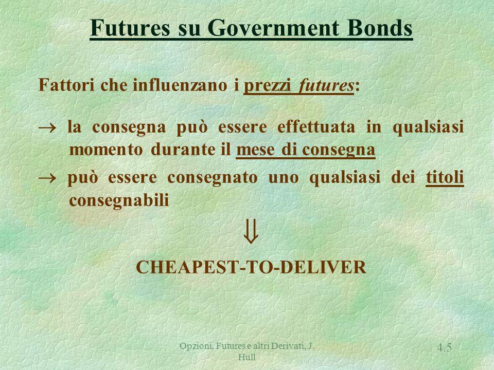 CTD = Min (prezzo spot - prezzo futures  FC)