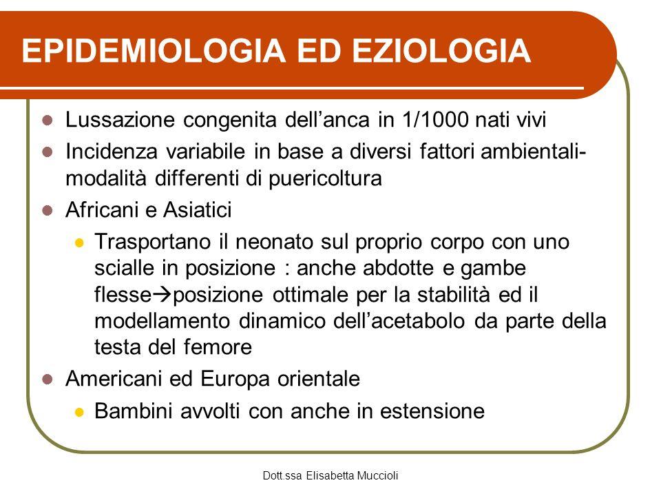 EPIDEMIOLOGIA ED EZIOLOGIA
