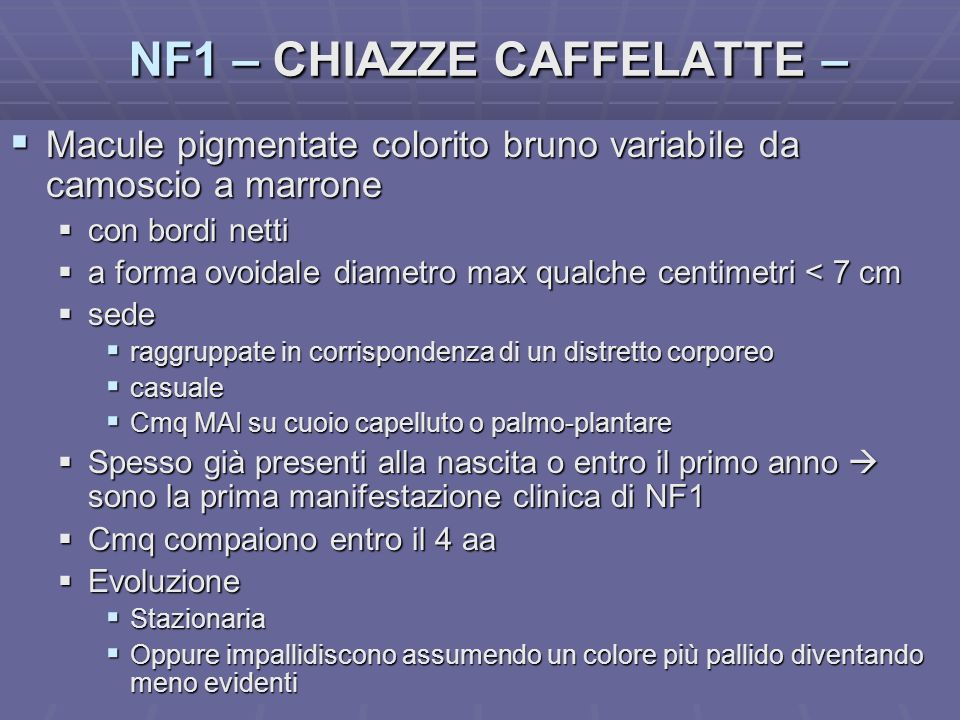 NF1 – CHIAZZE CAFFELATTE –