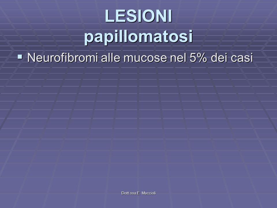 LESIONI papillomatosi
