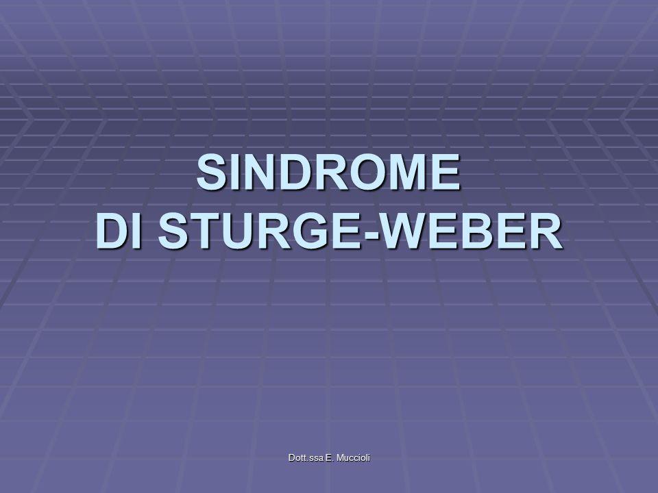 SINDROME DI STURGE-WEBER