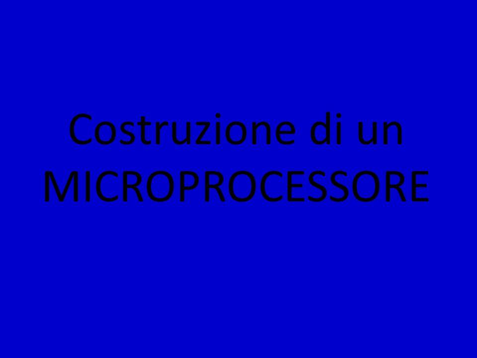 Costruzione di un MICROPROCESSORE