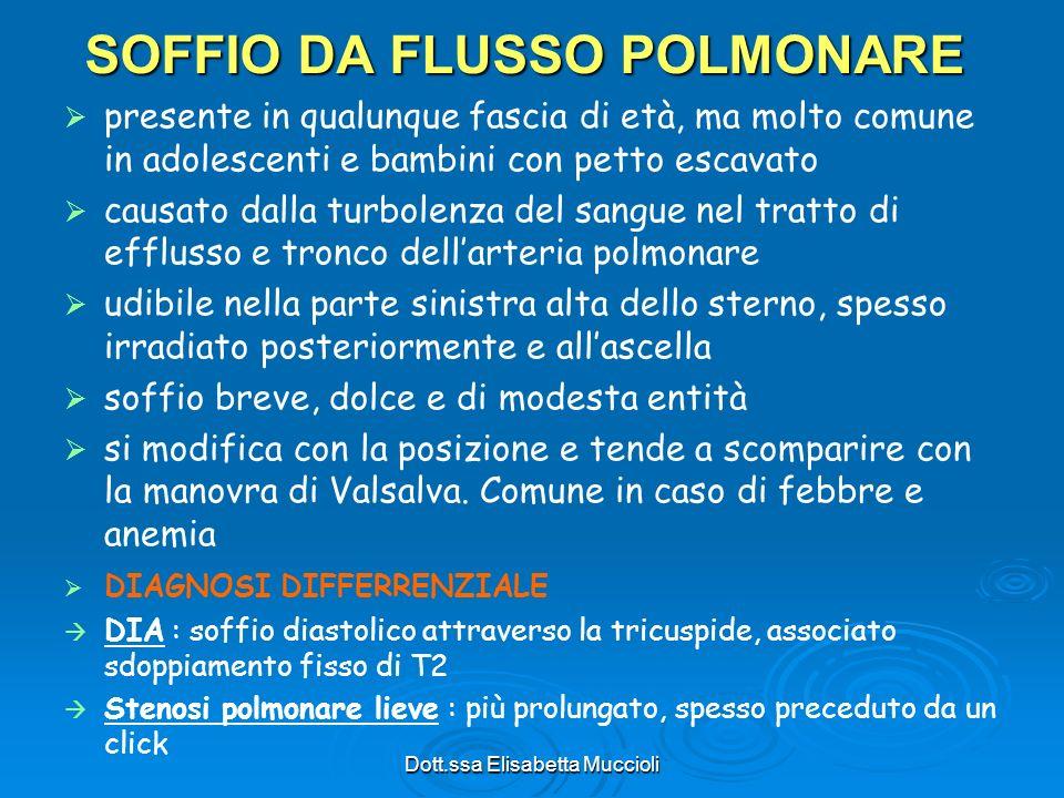 SOFFIO DA FLUSSO POLMONARE