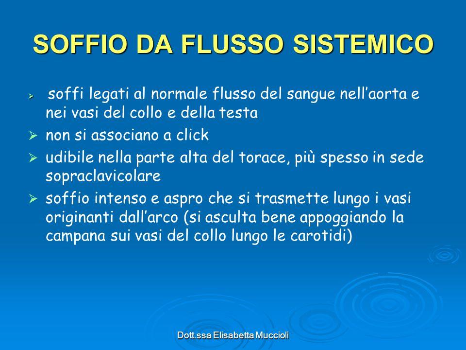 SOFFIO DA FLUSSO SISTEMICO