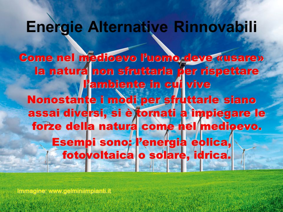 Energie Alternative Rinnovabili