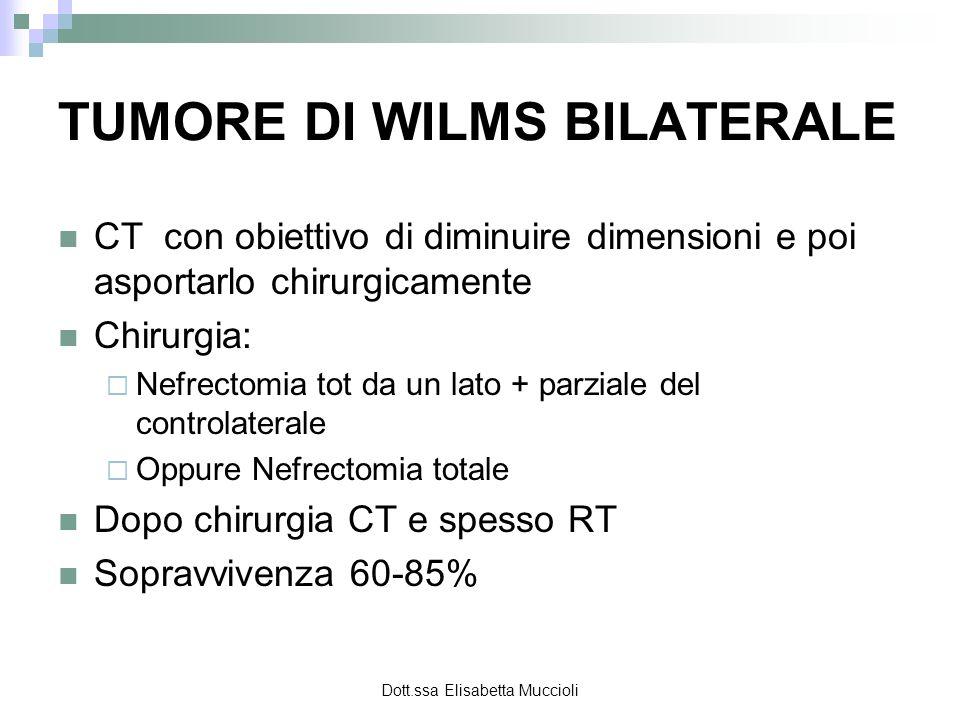 TUMORE DI WILMS BILATERALE