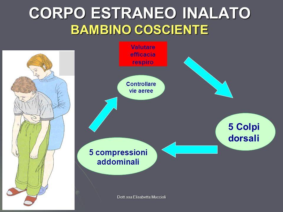 CORPO ESTRANEO INALATO BAMBINO COSCIENTE