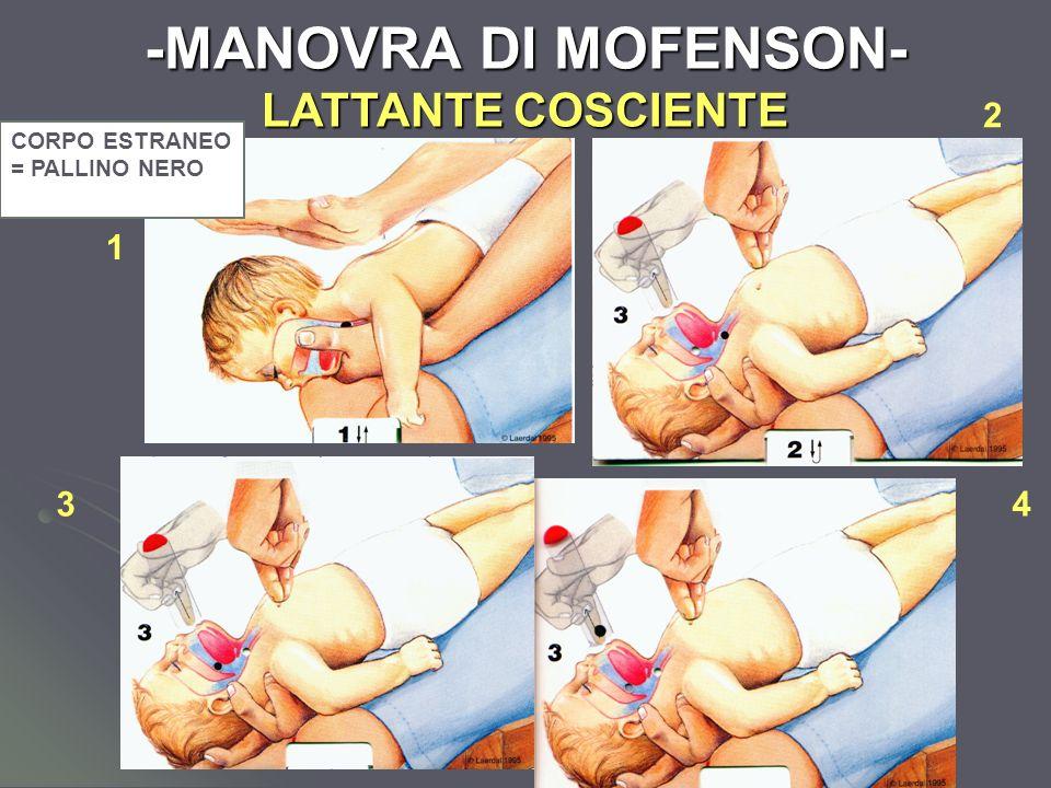 -MANOVRA DI MOFENSON- LATTANTE COSCIENTE
