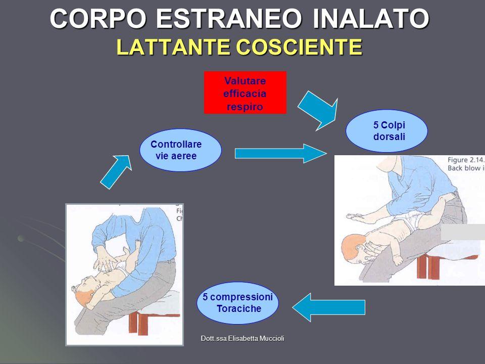 CORPO ESTRANEO INALATO LATTANTE COSCIENTE