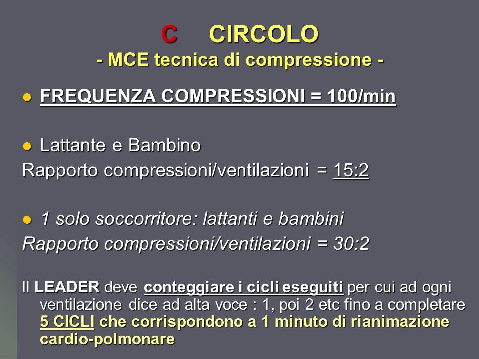 C CIRCOLO - MCE tecnica di compressione -