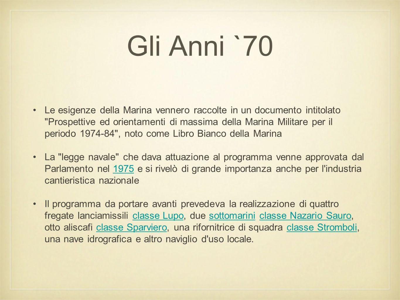 Gli Anni `70