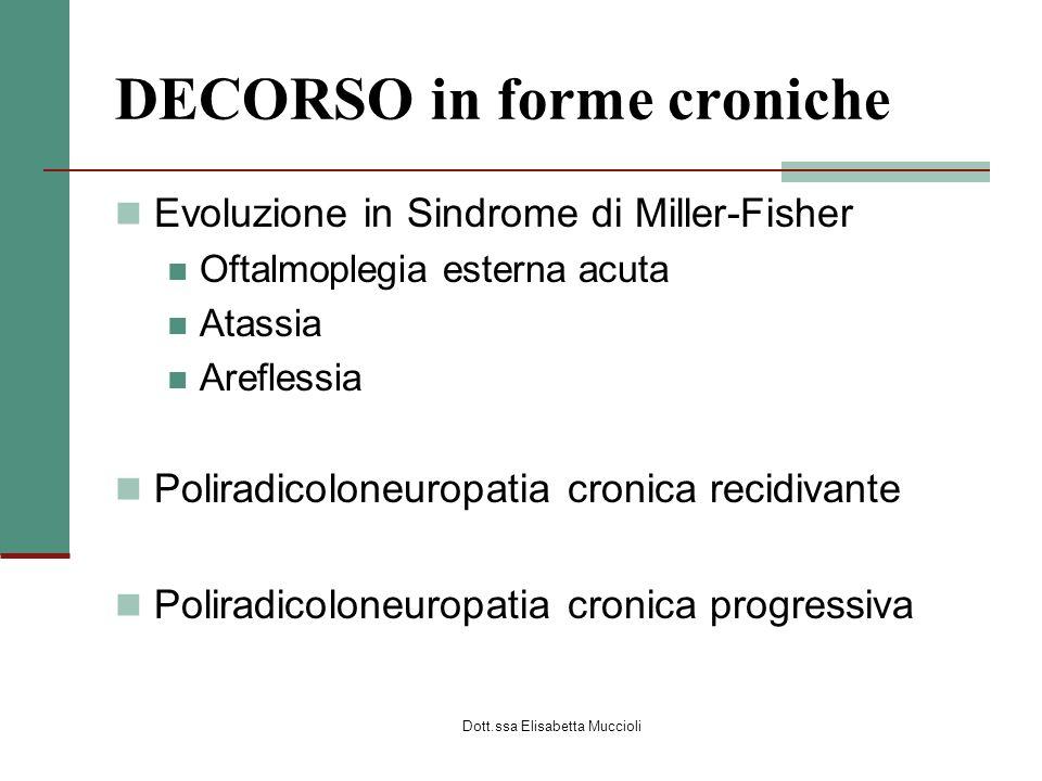 DECORSO in forme croniche