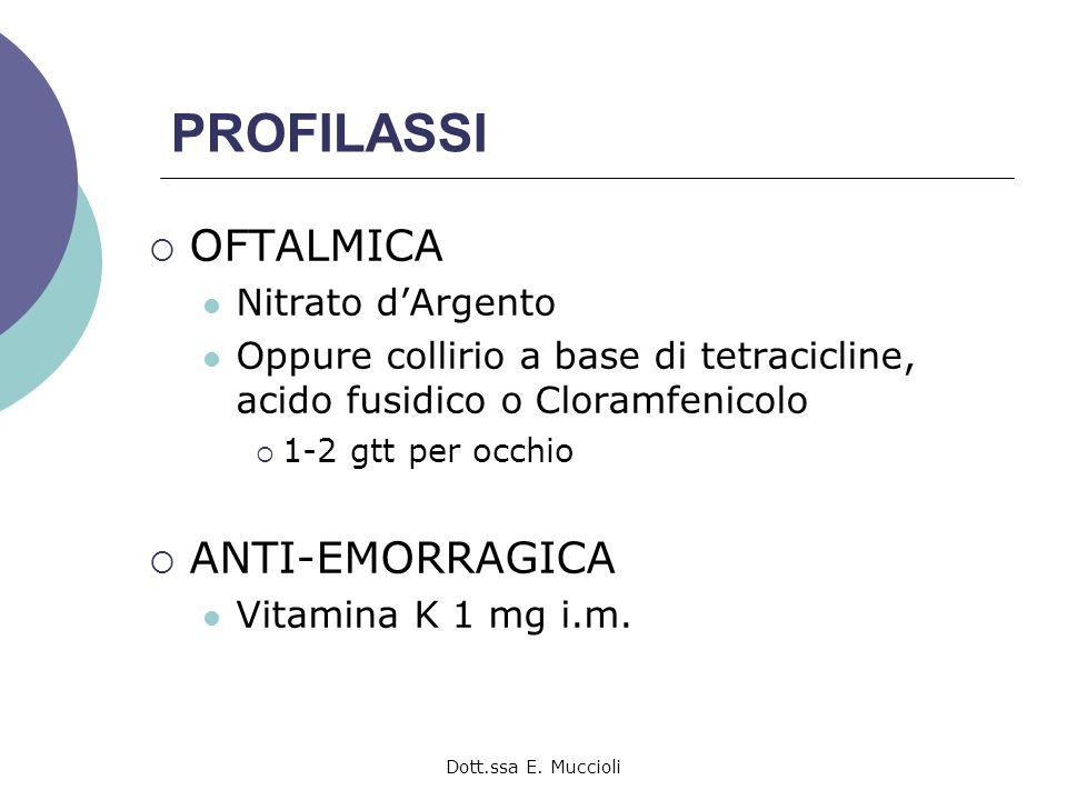 PROFILASSI OFTALMICA ANTI-EMORRAGICA Nitrato d'Argento