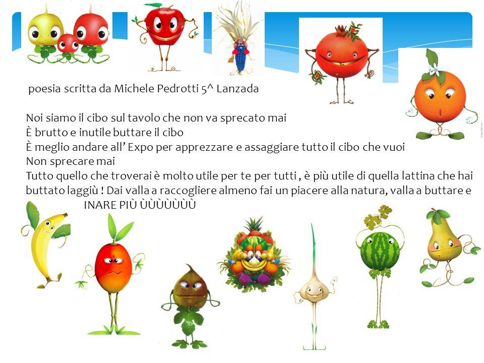 poesia scritta da Michele Pedrotti 5^ Lanzada