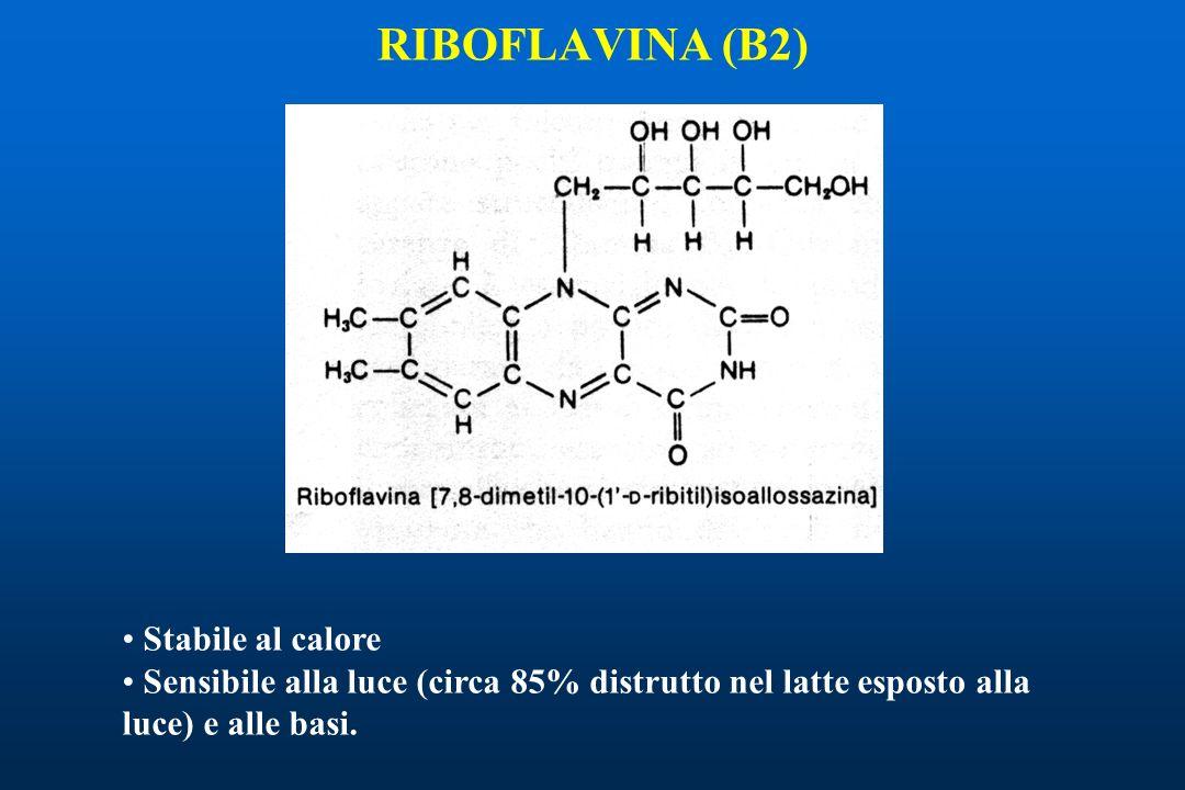 RIBOFLAVINA (B2) Stabile al calore