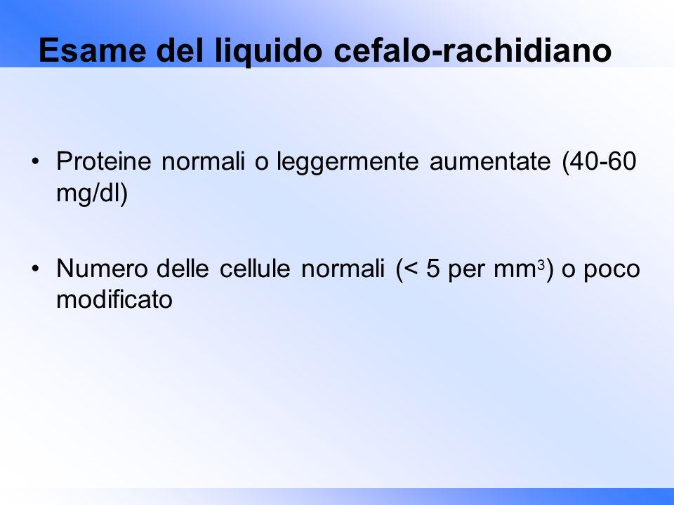 Esame del liquido cefalo-rachidiano