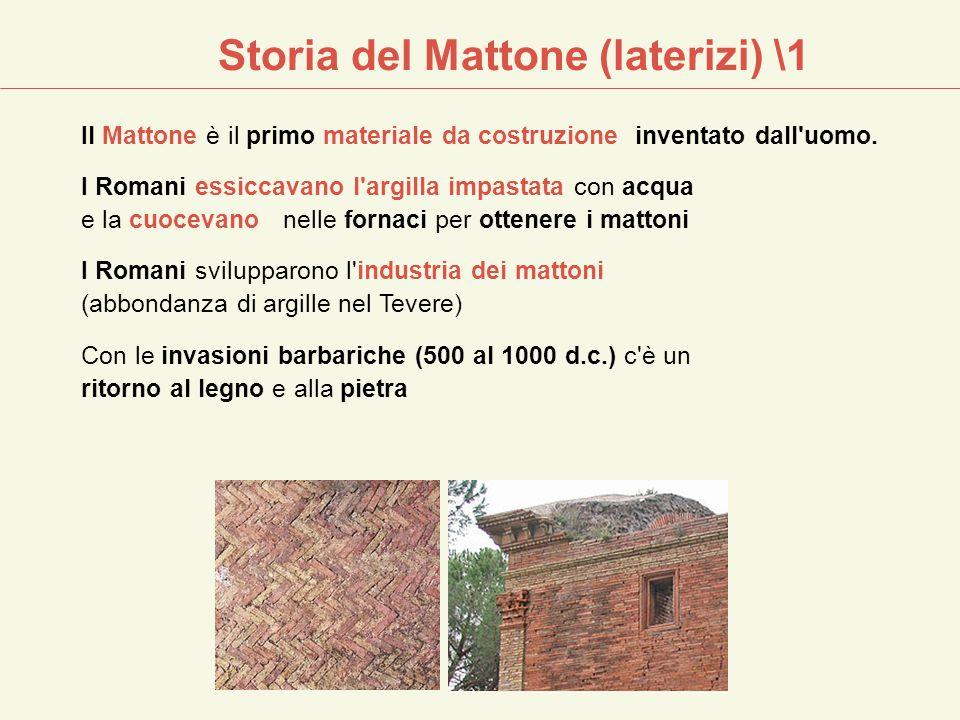 Storia del Mattone (laterizi) \1