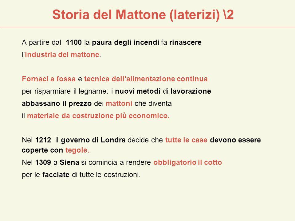 Storia del Mattone (laterizi) \2