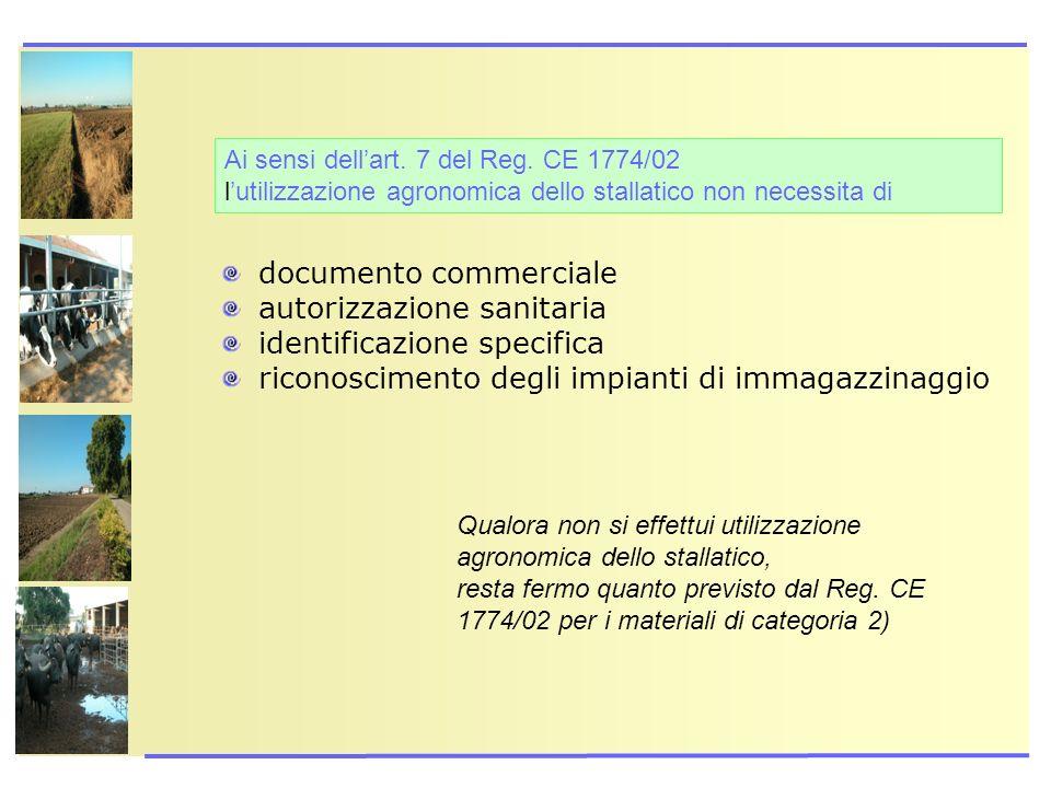 documento commerciale autorizzazione sanitaria