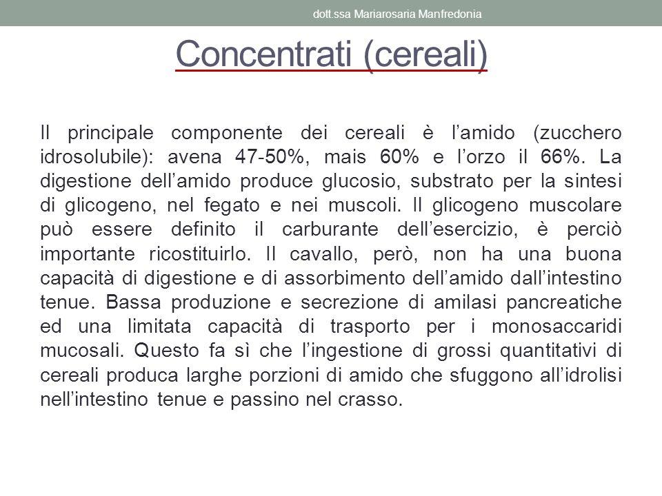 Concentrati (cereali)