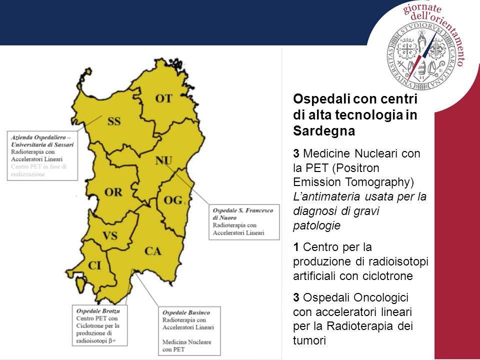 Ospedali con centri di alta tecnologia in Sardegna