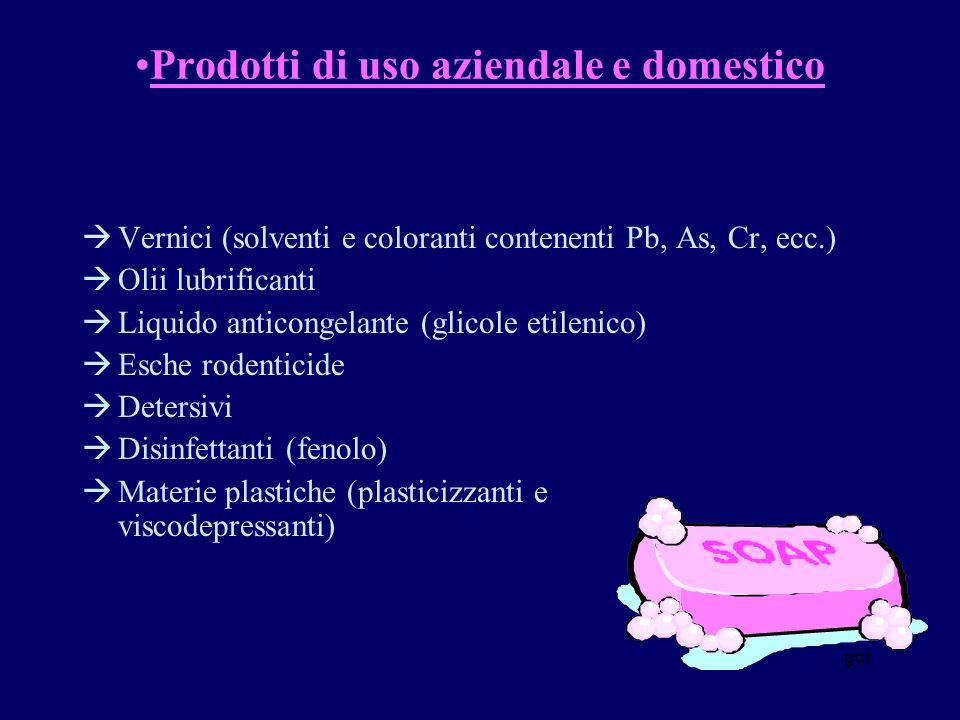Prodotti di uso aziendale e domestico