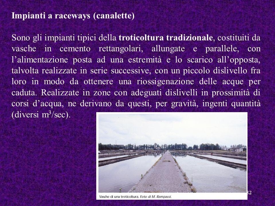Impianti a raceways (canalette)