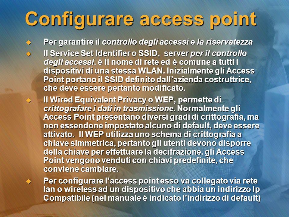 Configurare access point