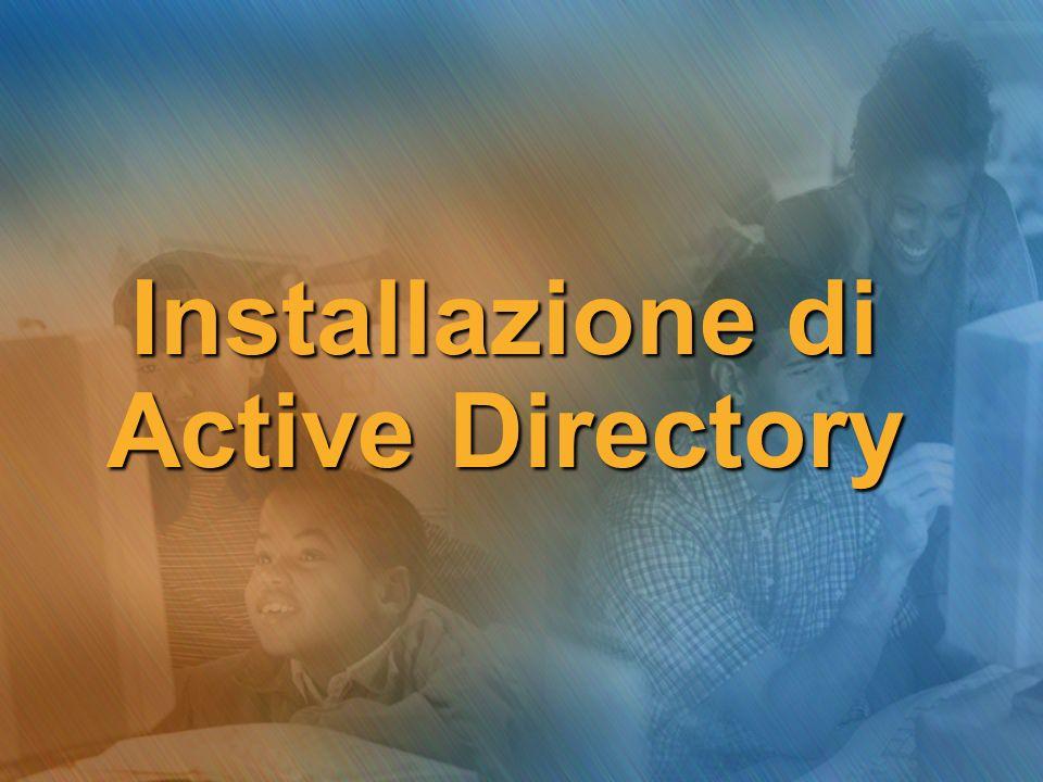 Installazione di Active Directory