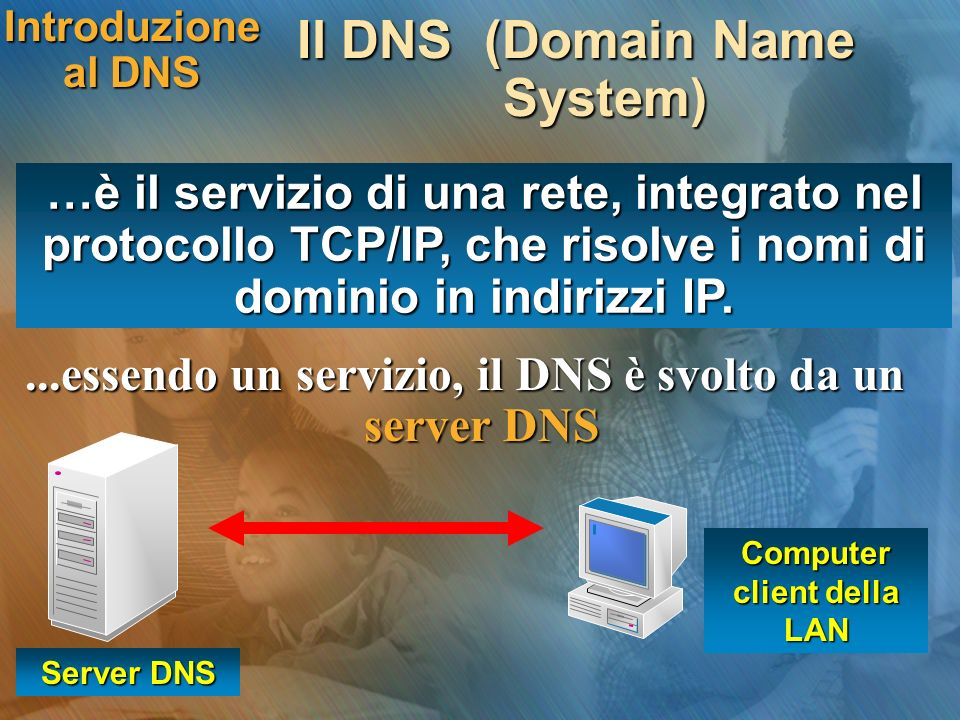 Il DNS (Domain Name System)
