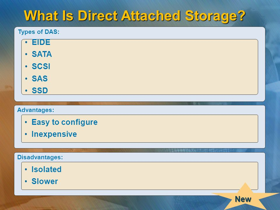 What Is Direct Attached Storage