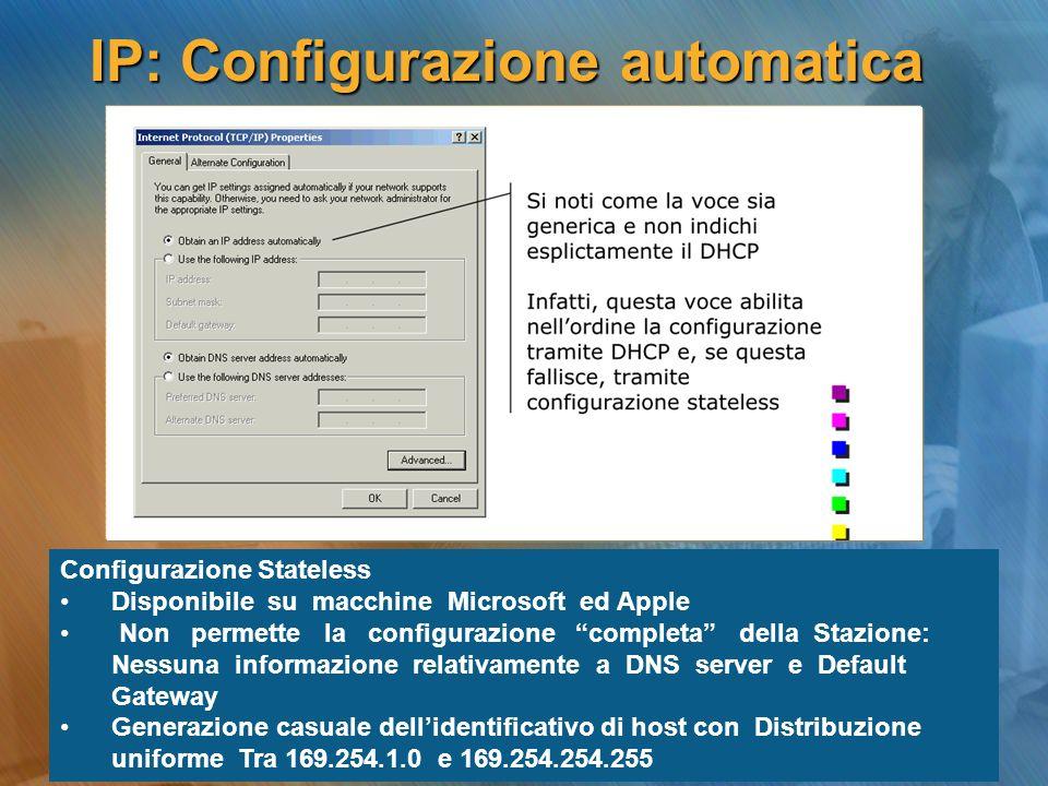 IP: Configurazione automatica