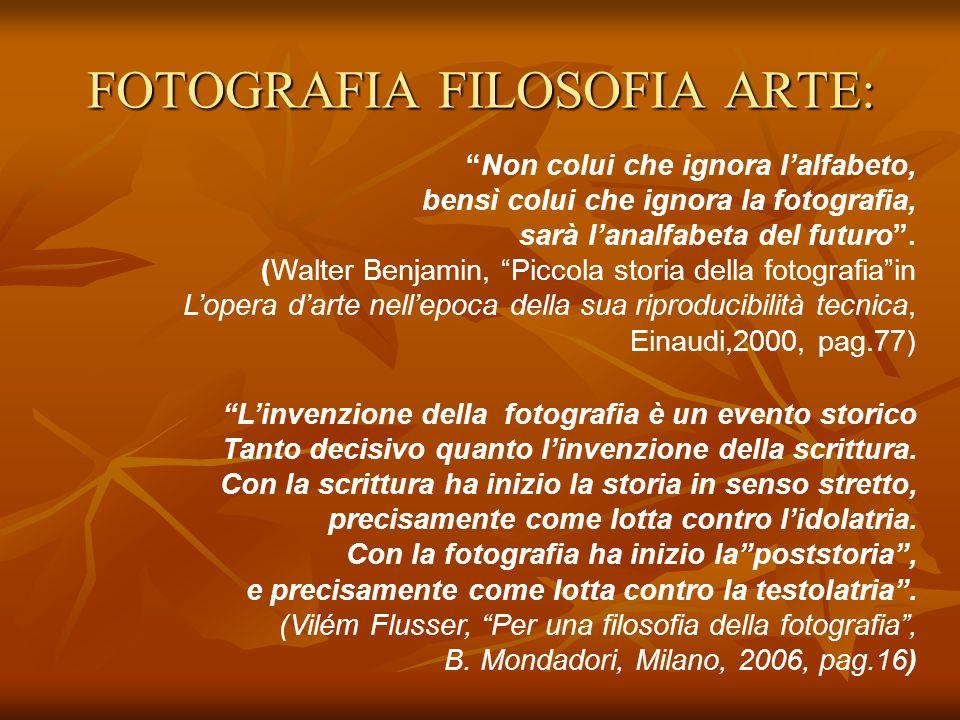 FOTOGRAFIA FILOSOFIA ARTE: