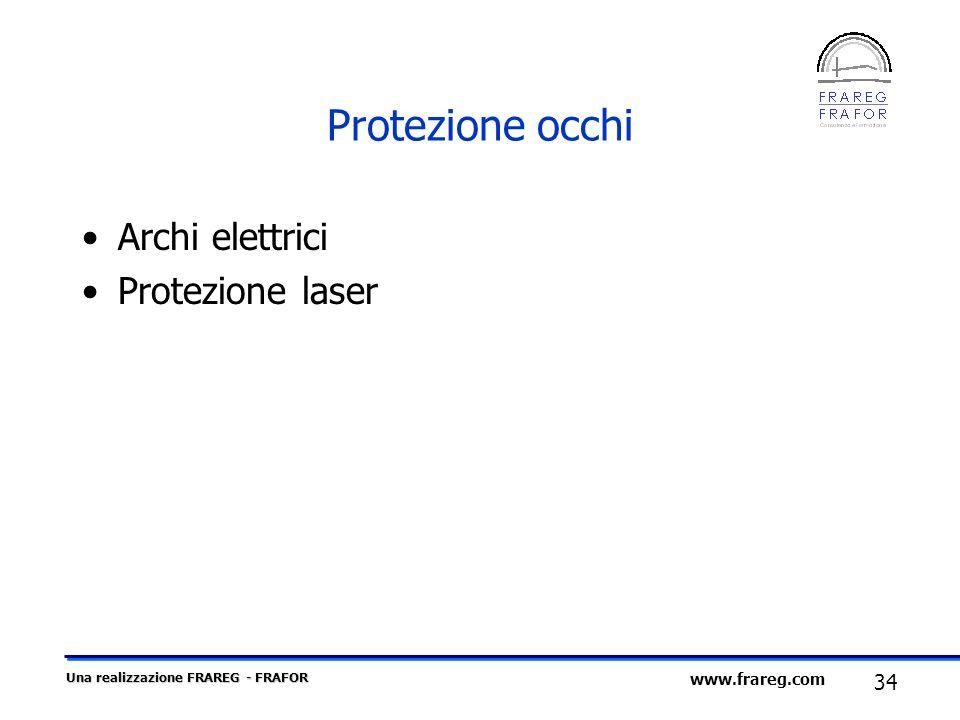 Protezione occhi Archi elettrici Protezione laser