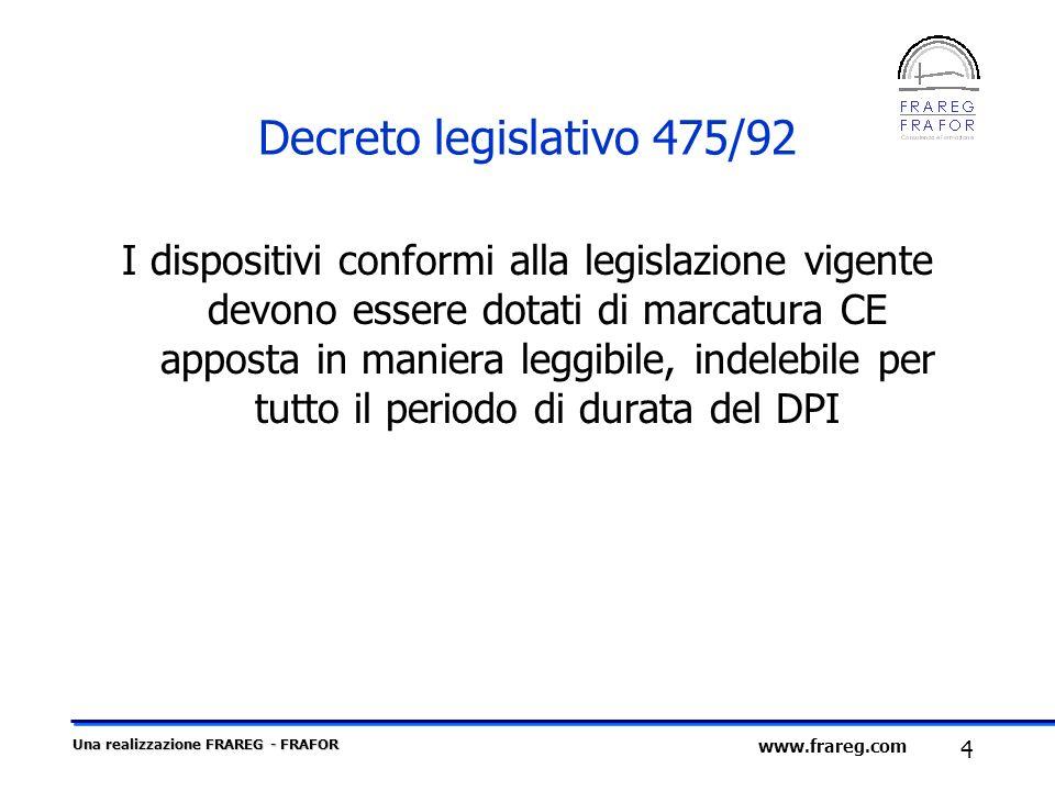 Decreto legislativo 475/92