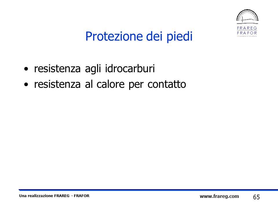 Protezione dei piedi resistenza agli idrocarburi