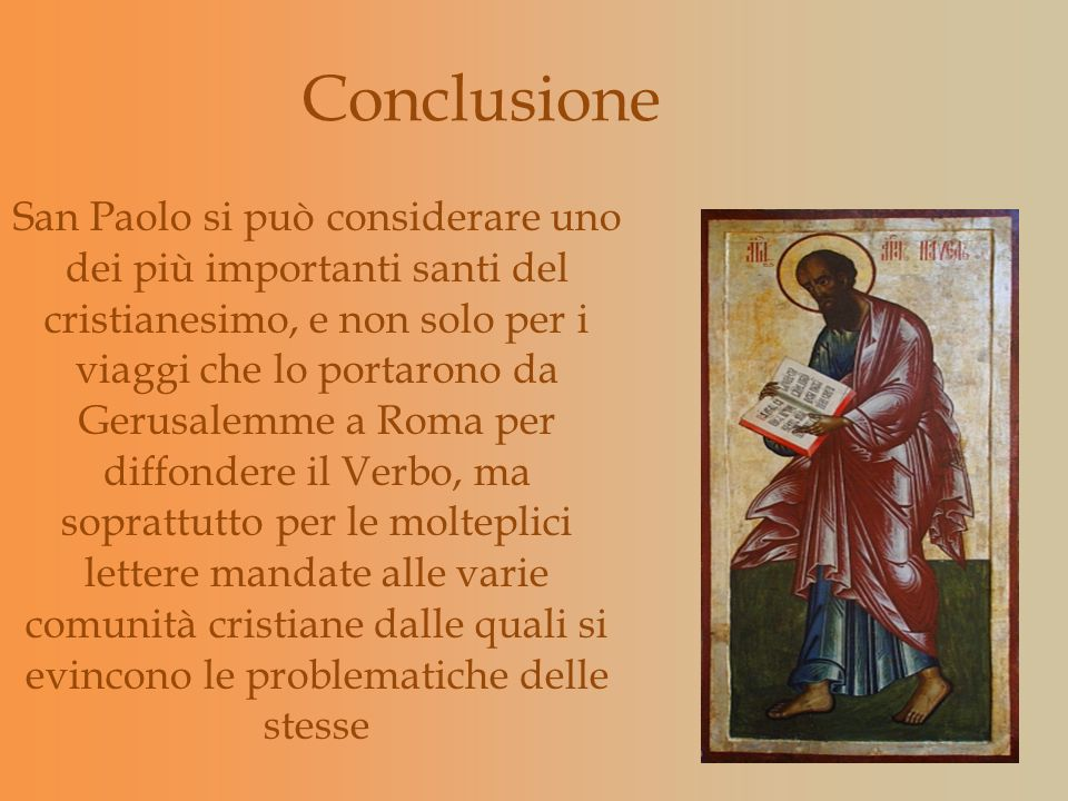 Conclusione