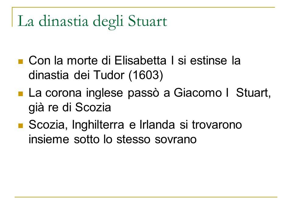La dinastia degli Stuart