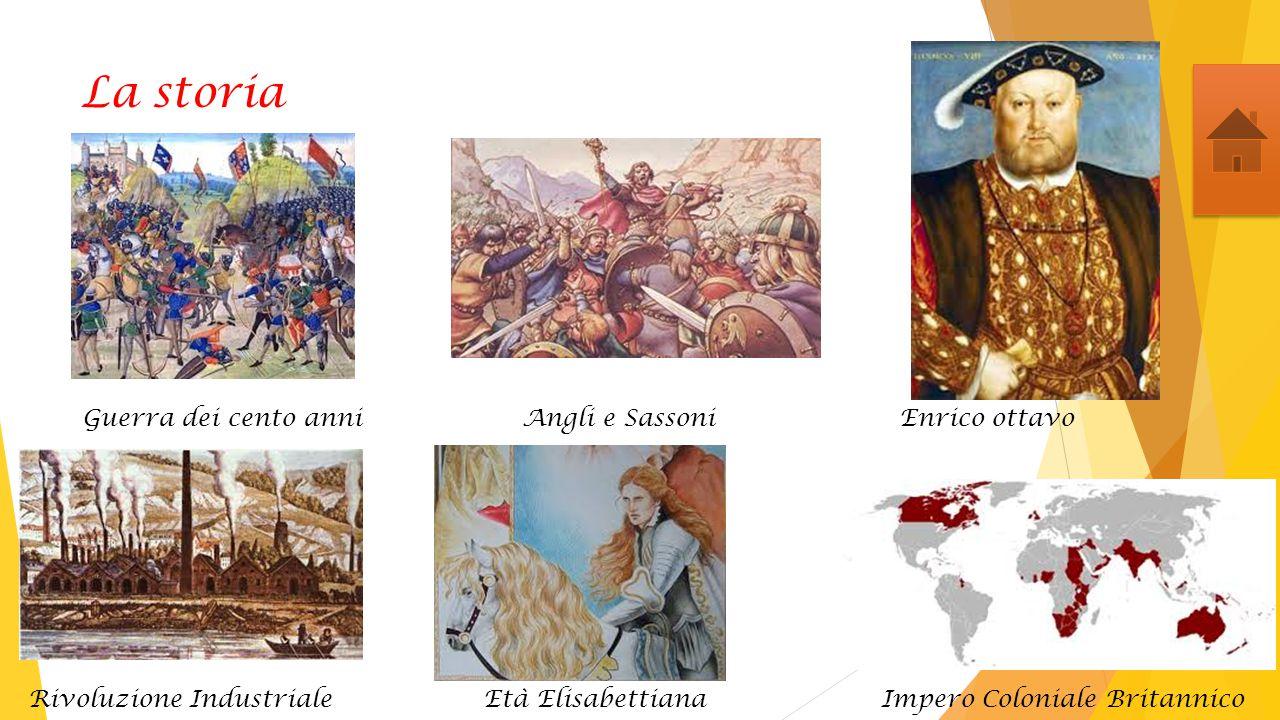La storia Guerra dei cento anni Angli e Sassoni Enrico ottavo