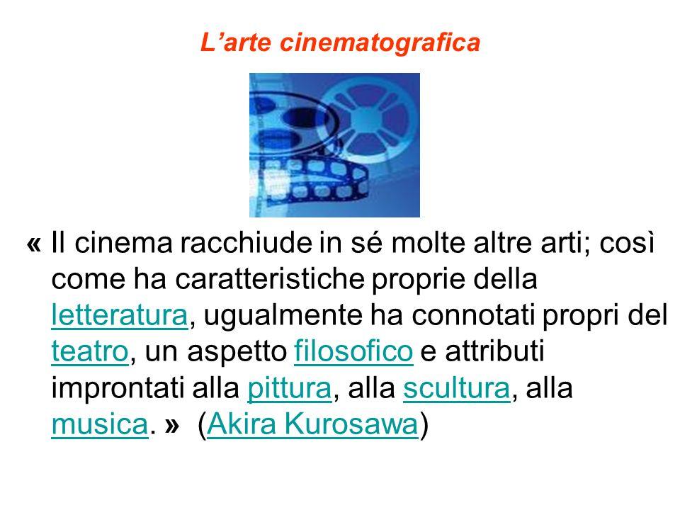 L'arte cinematografica