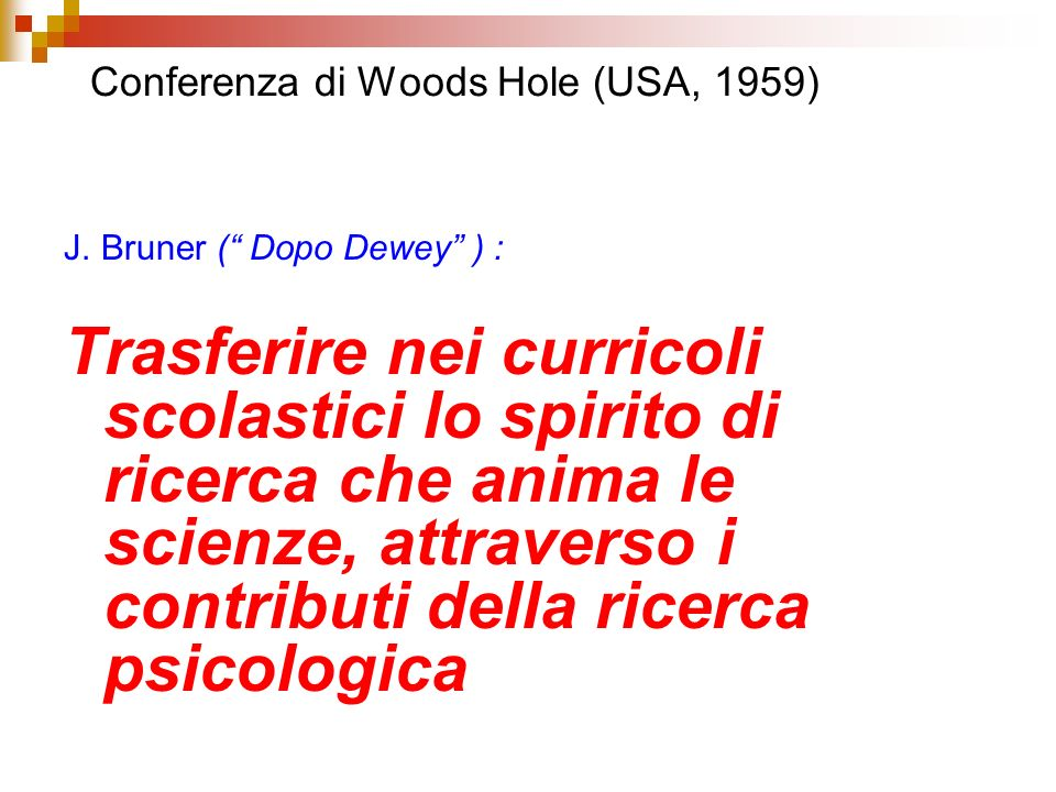 Conferenza di Woods Hole (USA, 1959)