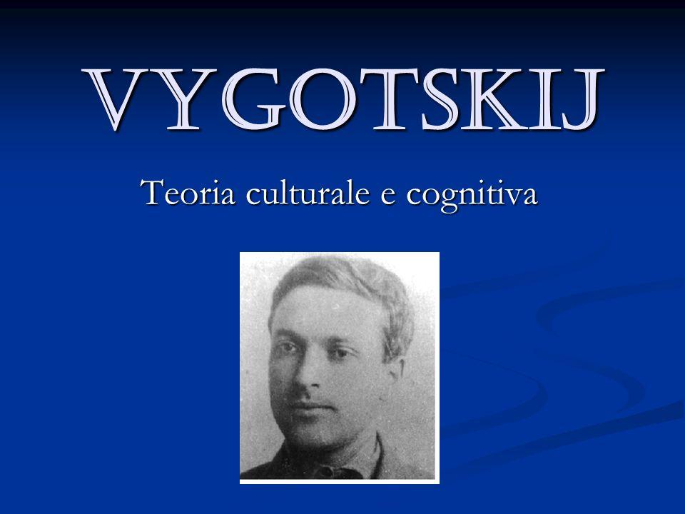 Teoria culturale e cognitiva