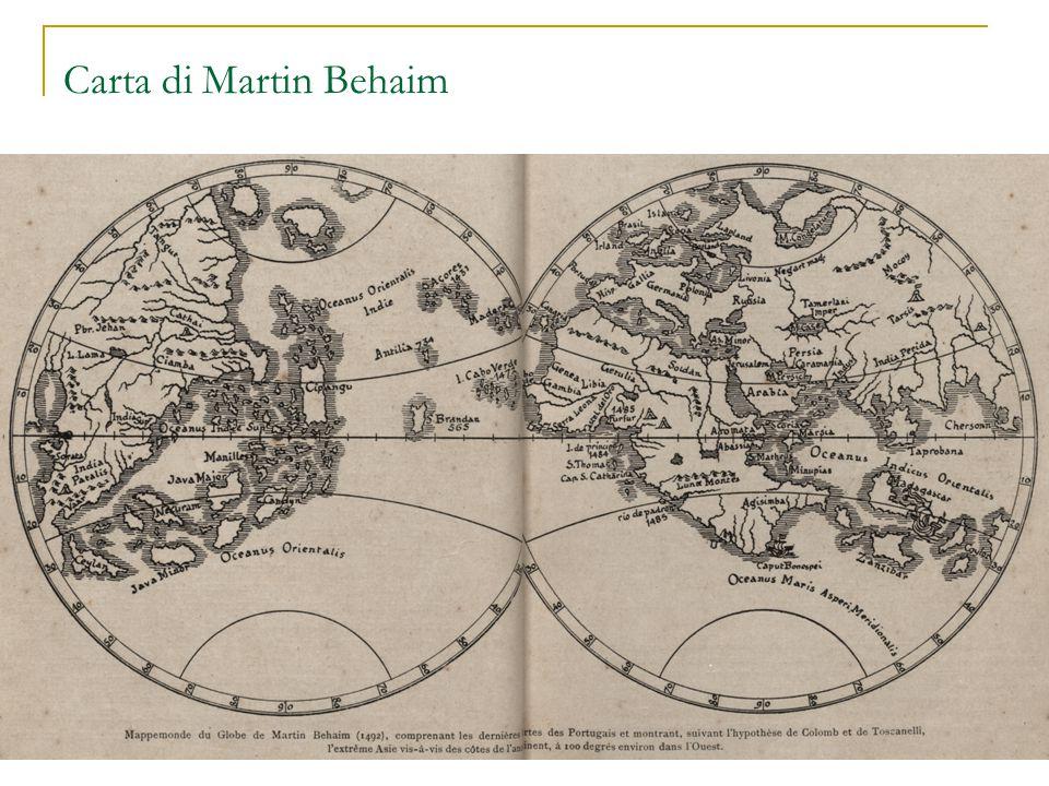 Carta di Martin Behaim