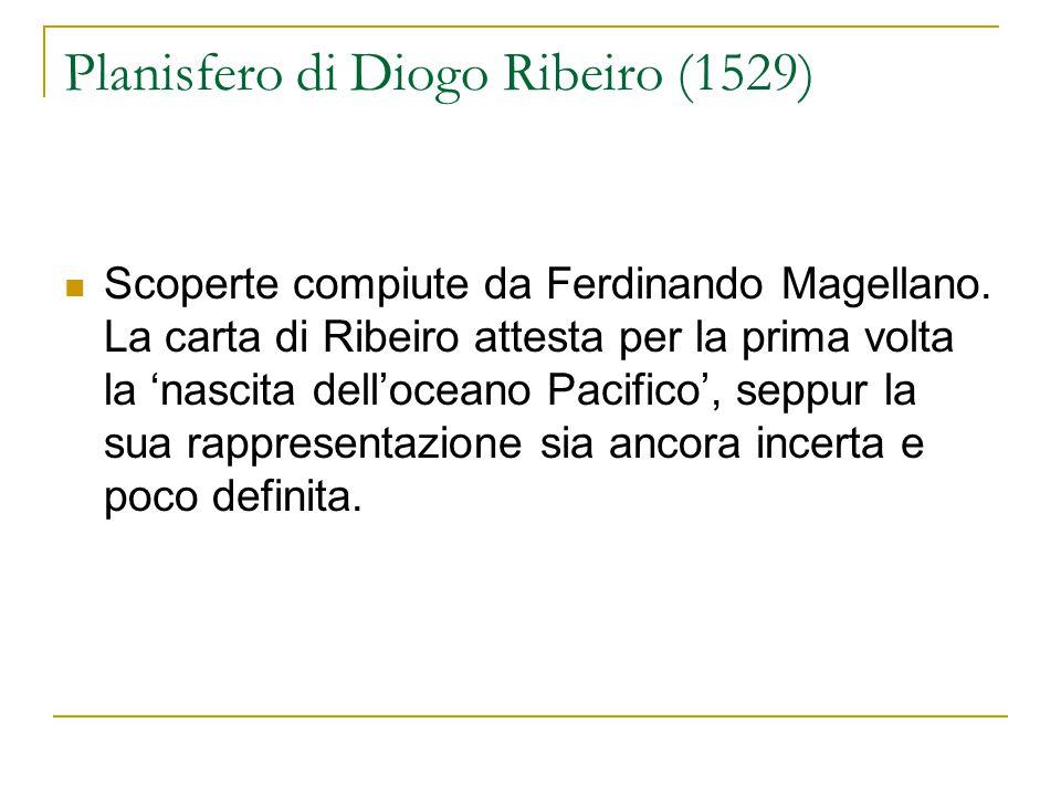 Planisfero di Diogo Ribeiro (1529)