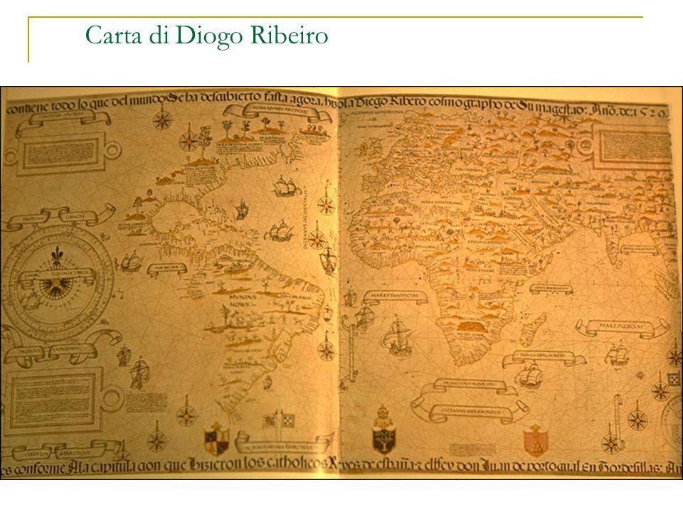 Carta di Diogo Ribeiro