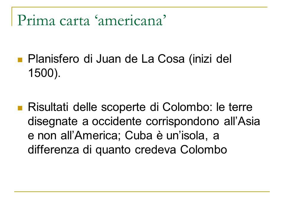 Prima carta 'americana'