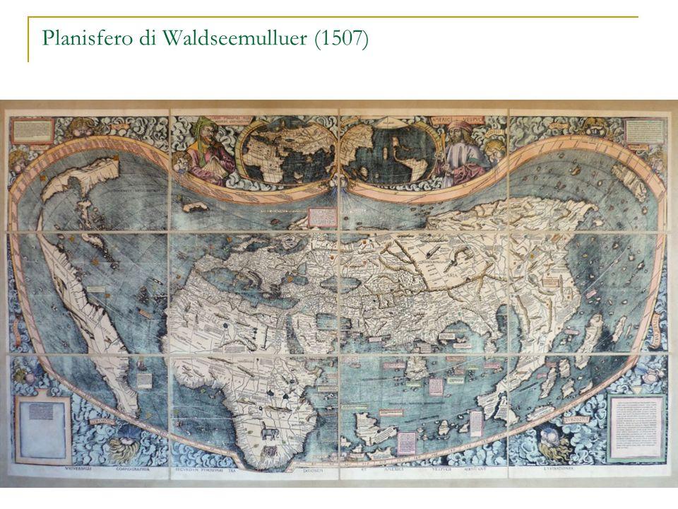 Planisfero di Waldseemulluer (1507)