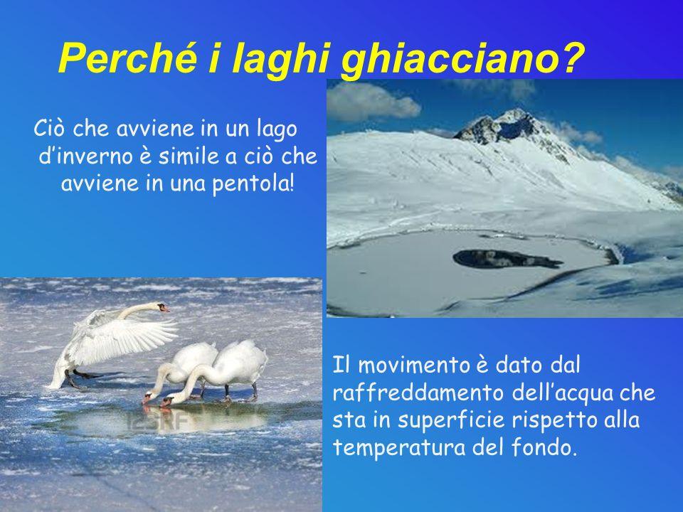 Perché i laghi ghiacciano