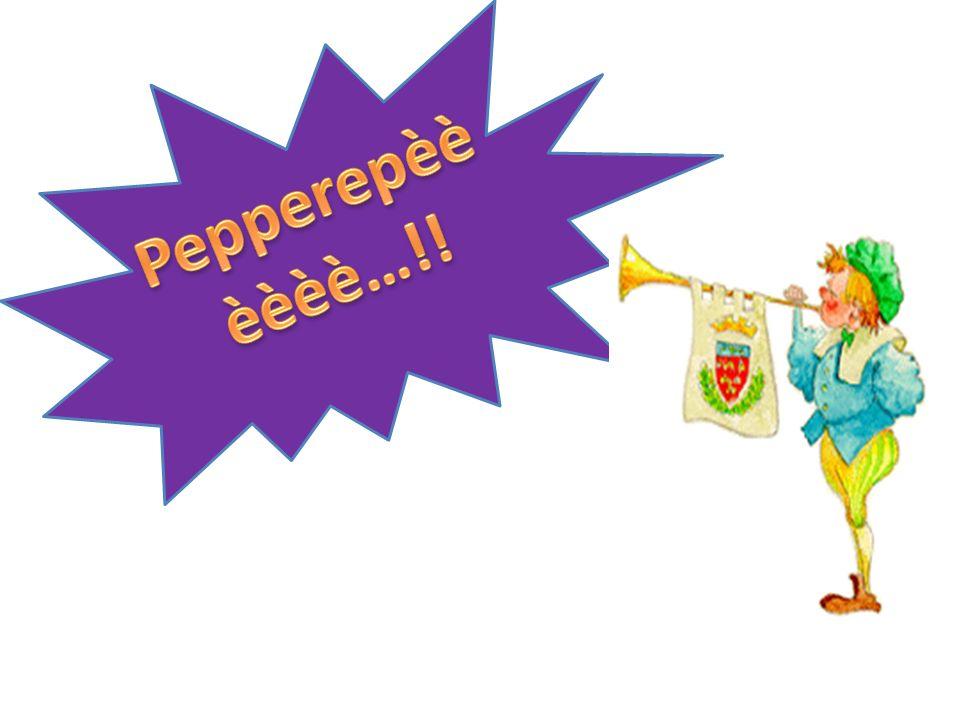 Pepperepèèèèèè…!!