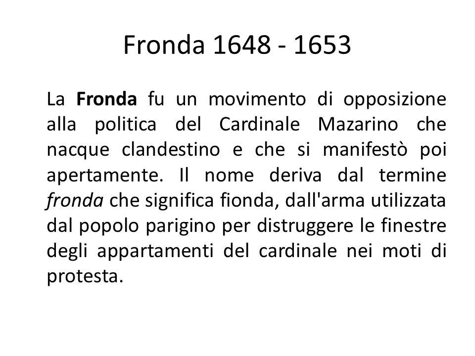 Fronda 1648 - 1653